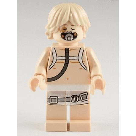 Lego Star Wars Luke Skywalker Bacta Tank Outfit Minifigure