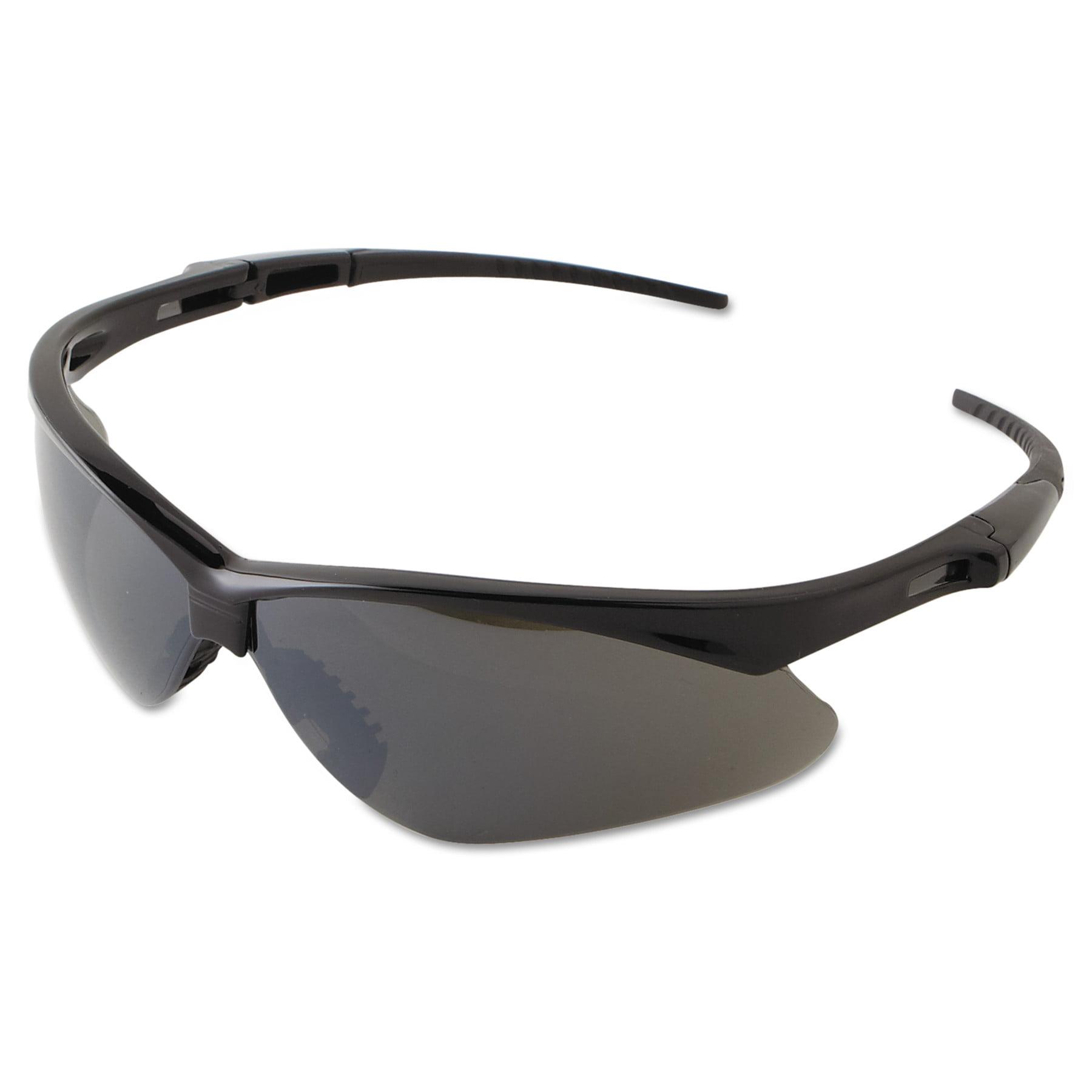Jackson Safety* V30 NEMESIS Safety Eyewear, Black Frame, Smoke Mirror Lens by Kimberly Clark