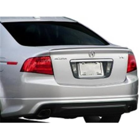 Elite Abs215a Nh700m Acura Tl Lip 2004 2008 Factory Style Spoiler Painted  Alabaster Silver Metallic