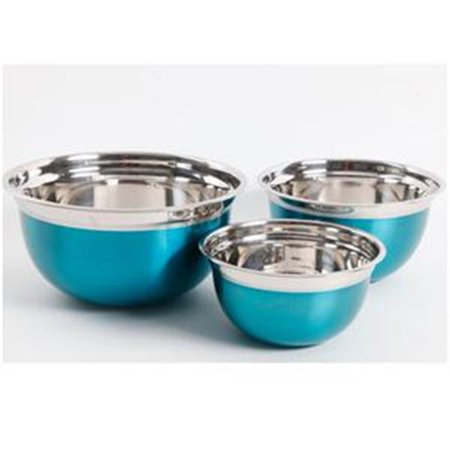 O Rosamond Mix Bowl Set Turquoise - 3 Piece ()