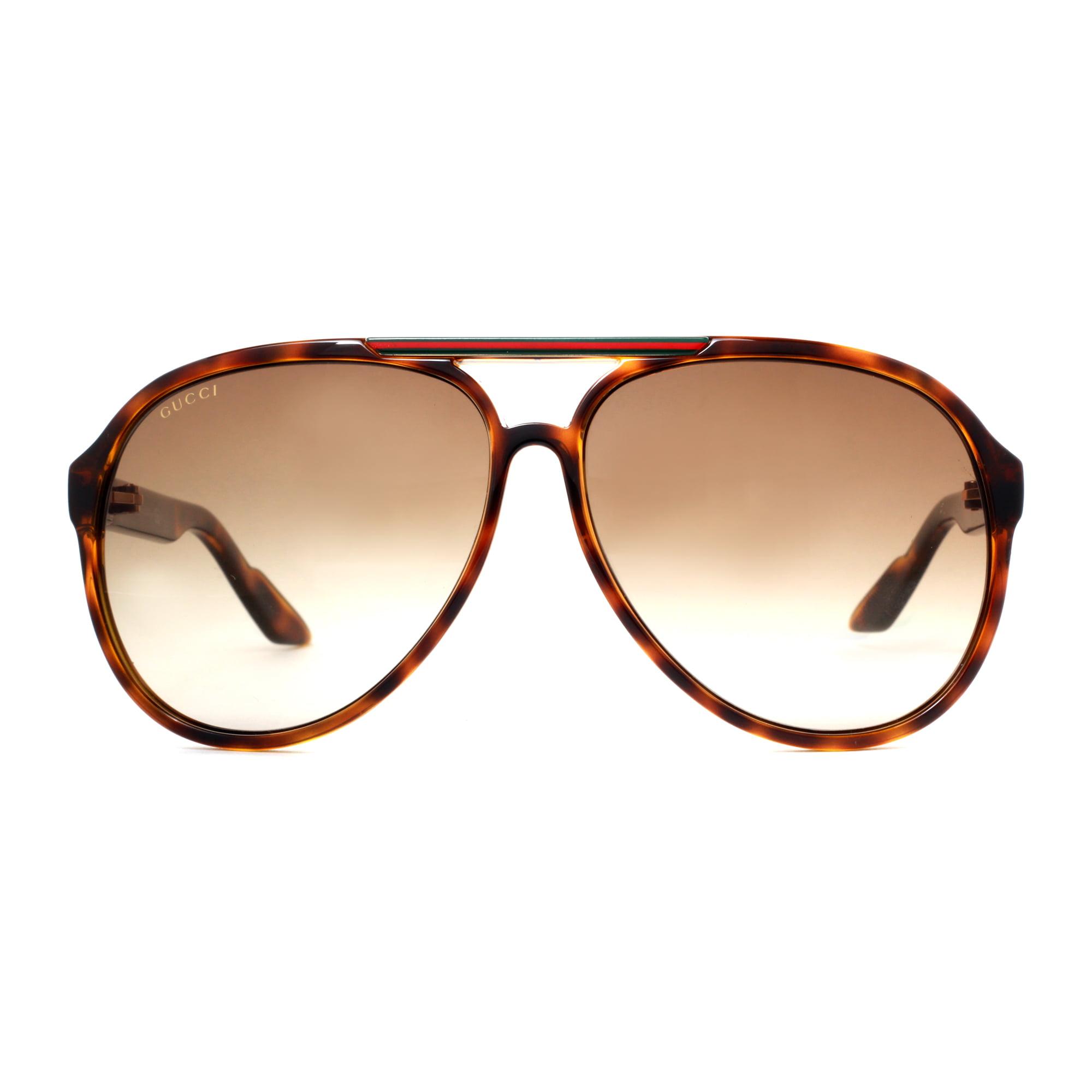 3f543799f89 GUCCI - GUCCI Sunglasses 1627 S 0791 Havana 59MM - Walmart.com