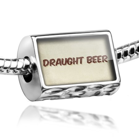 Bead Draught Beer, Vintage style Charm Fits All European Bracelets