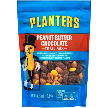 Planters Trail Mix Peanut er Chocolate, 6 Oz - Walmart.com on planters walnuts, planters nut bar, planters mixed nuts, planters guy, planters nut man, planters potato chips, planters pecans, planters brittle nut medley, planters sunflower seeds, planters logo, planters holiday pack, planters nutmobile, planters peanutbutter, planters crackers, planters honey roasted, planters sunflower kernels, planters almonds, planters cashews, planters candy, planters holiday collection,
