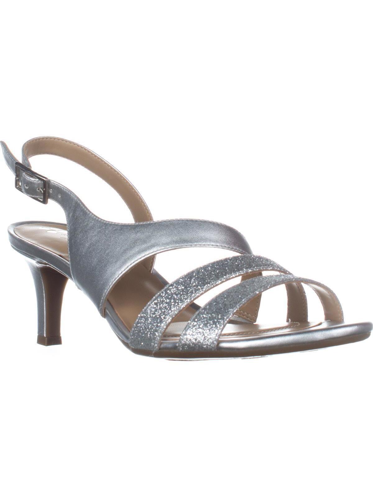 57137566196b Naturalizer Womens Tami Open Toe Casual Slingback Sandals