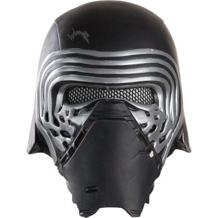 Kylo Ren 1 2 Helmet Adult Halloween Accessory