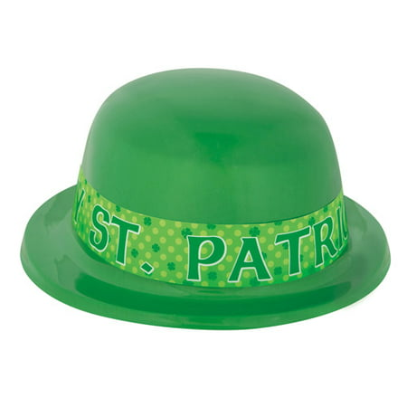 St  Patricks Day Green Derby Hat