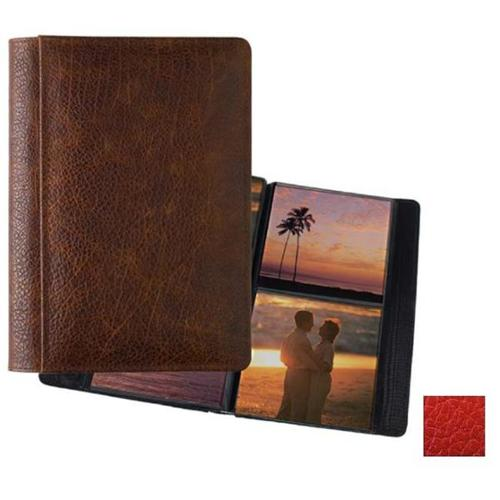 Raika RO 157 RED 5inch x 5inch Two-High Photo Album - Red