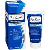 PanOxyl Creamy Acne Wash, Daily Control, 4% Benzoyl Peroxide - 6 oz