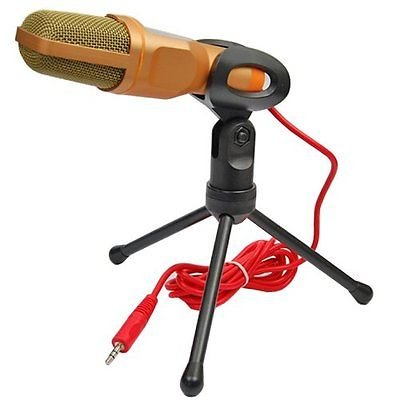 Microphones Wired Microphone Mini Jack 3.5mm Handheld Studio Microphone Condenser Professional With Microphone Holder For PC Computer