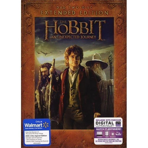 The Hobbit: An Unexpected Journey - Extended Edition - 2 DVD