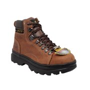 """Women's 6"""" Steel Toe Work Boot Brown"""