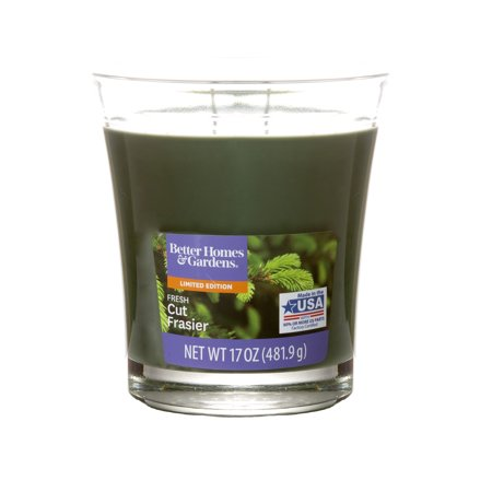Better Homes & Gardens 17 Ounce Fresh Cut Frasier Jar Candle 5 Ounce Poured Candle