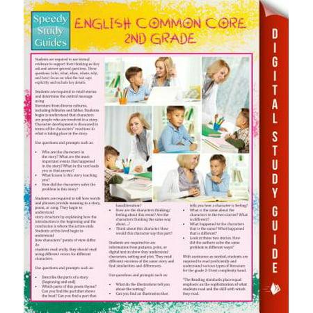 English Common Core 2nd Grade (Speedy Study Guide) - eBook