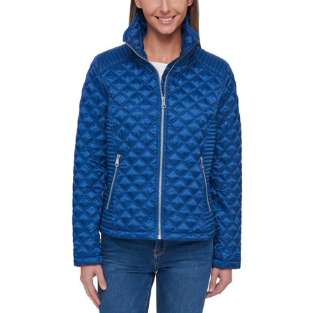 Marc New York Womens Lightweight Quilted Jacket (Navy, X-Large)