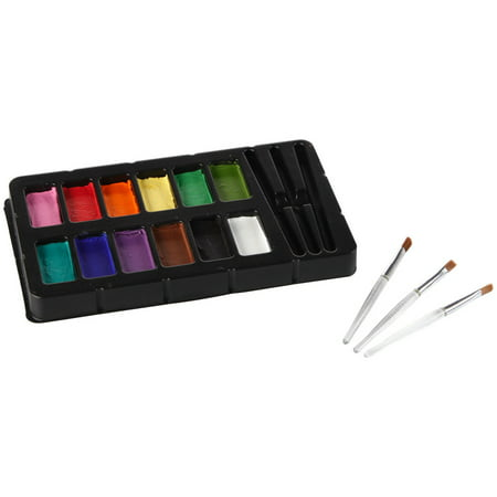 Tulip Body Art Face & Body Paint Kit-Rainbow - Face Paint Hypoallergenic