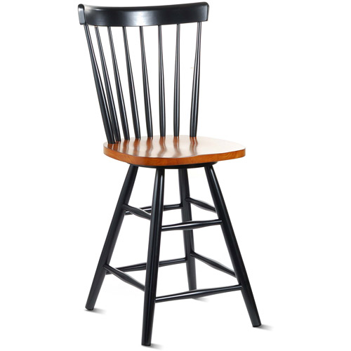 "Copenhagen Swivel Counter Stool 24"", Multiple Colors"