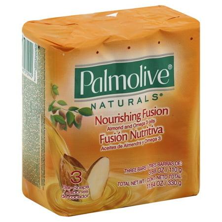 Colgate Palmolive Palmolive Naturals Bar Soaps, 3 ea