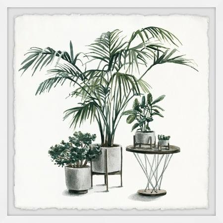 Marmont Hill Indoor Tropical Garden Framed Wall Art ()