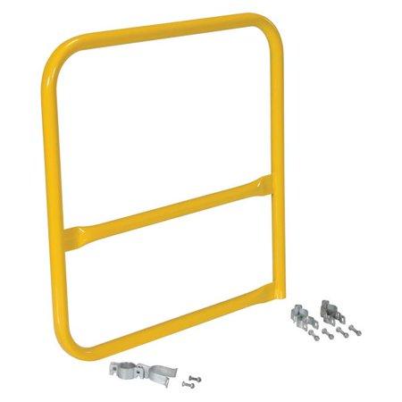 VESTIL VDKR-G3-B Pipe Safety Railing Gate Aluminum Pipe Safety Railing
