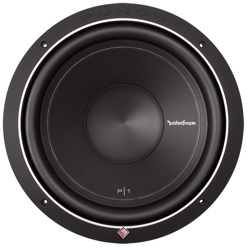 "New ROCKFORD FOSGATE Punch P1S2-12 12"" 500W 2-Ohm Power Car Audio Subwoofer Sub"