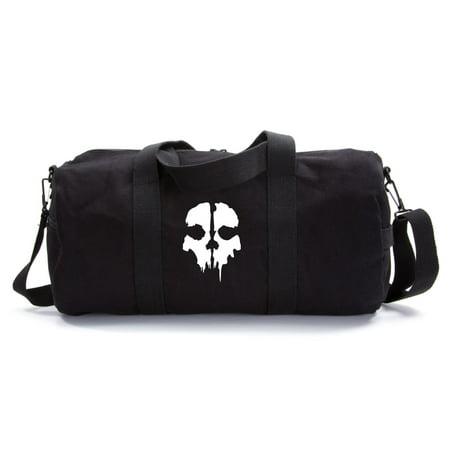 Call of Duty Ghost Skull Logo Army Sport Heavyweight Canvas Duffel Bag