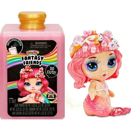 "Poopsie Rainbow Surprise Fantasy Friends That Spit Sparkly Slime and Toot Glitter (6"" Doll)"