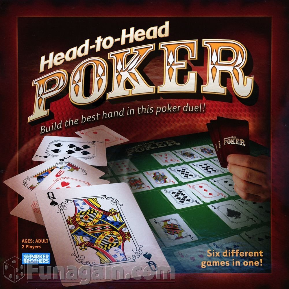 Head to Head Poker Game, Head to Head Poker Game is 6 different poker games in 1 By Hasbro... by