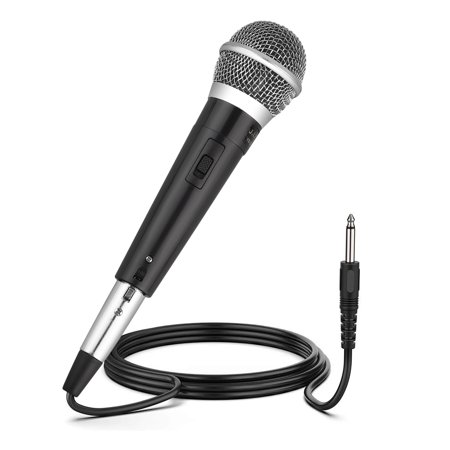 Wired Dynamic Microphones,  Professional Handheld Mic Microphones with 10ft Cable with 1/4