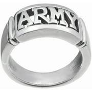 Daxx Men's Sterling Silver Army Fashion