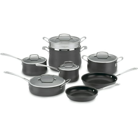 Cuisinart Anodized Cookware - Cuisinart Contour Hard Anodized 13 Pc. Set