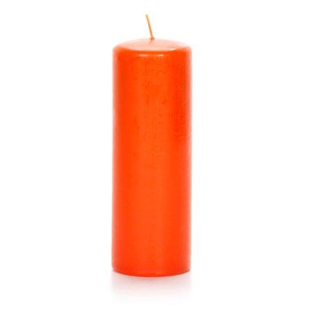 Pillar Candle - Pumpkin - 2.8 x 8.8