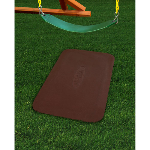 Gorilla Playsets Play Protector Rubber Mat, Red