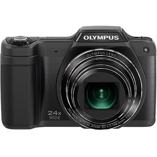 Olympus Stylus SZ-15 Digital Camera with 24x Optical Zoom...