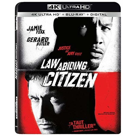 Law Abiding Citizen 4K + Blu-ray + Digital (Jamie Foxx And Gerard Butler Law Abiding Citizen)