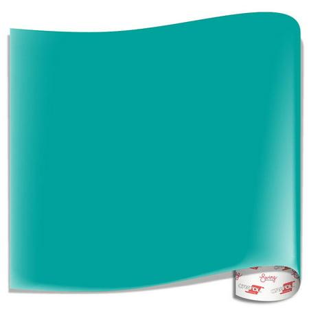 Turquoise Vinyl - Oracal 631 Matte Vinyl Sheets - Turquoise