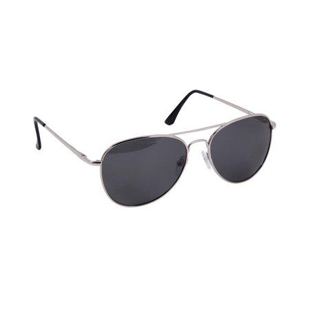 Aviator Style Polarized Sunglasses w/ Case, Available in Three Lens