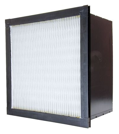 Air Handler 20HN67 100% Synthetic Media 24x12x12 Minipleat Air Filter