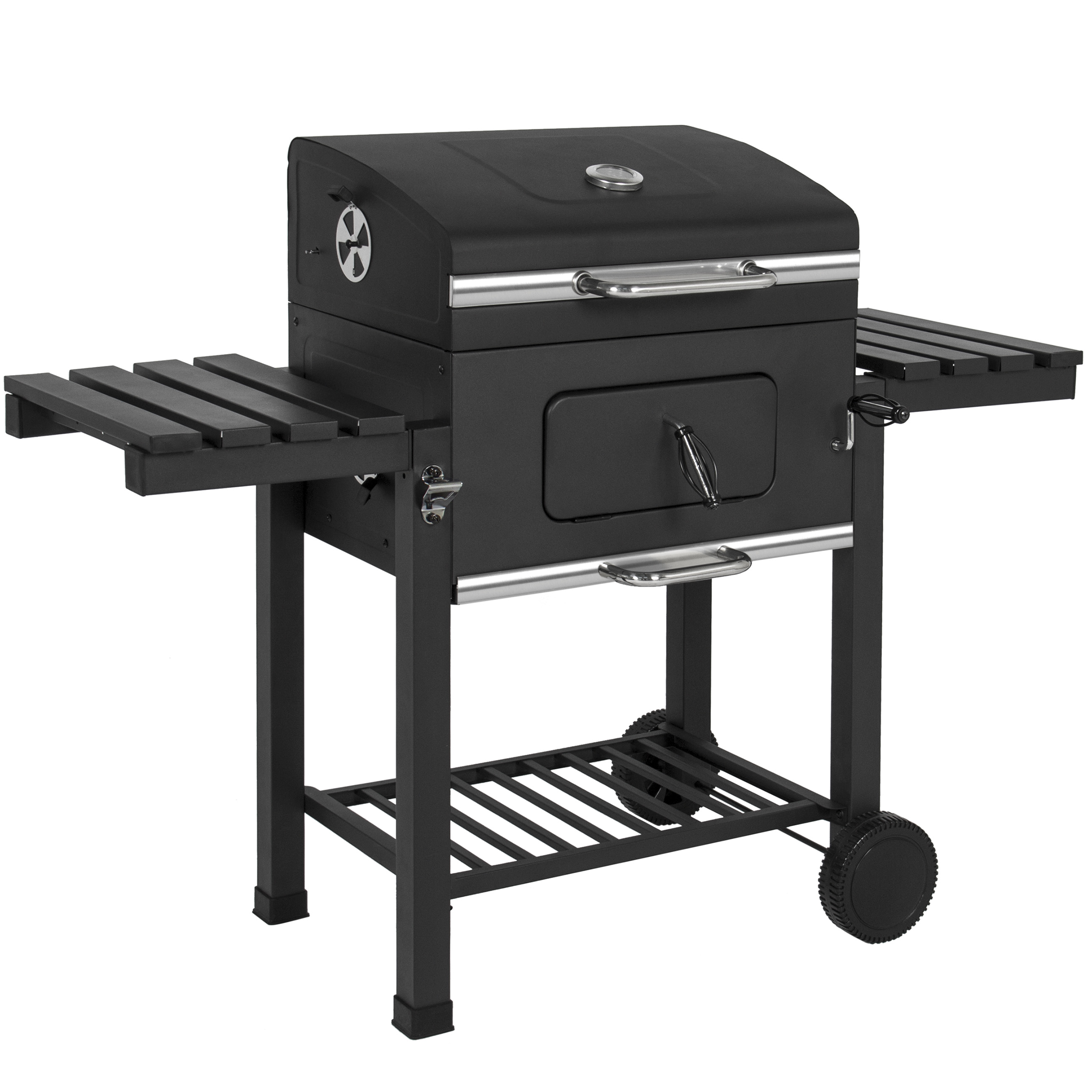 Best Choice Products Premium Barbecue Charcoal Grill Smoker Outdoor Backyard BBQ
