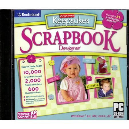 Scrapbook Designer PC CDRom from Creating Keepsakes Scrapbook Magazine - 10,000 Images + 2,000 Templates + 600 Fonts