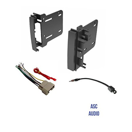 Audi Harness - ASC Audio Car Stereo Radio Install Dash Kit, Wire Harness, and Antenna Adapter to Add a Double Din Radio for some 2007-2016 Chrysler Dodge Jeep- Vehicles listed below
