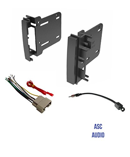 asc audio car stereo radio install dash kit  wire harness Dual Stereo Wiring Harness Diagram Sony Car Stereo Wiring Harness
