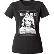 Blondie Rock Band Music Group Kpc Presente Juniors Crewneck T-Shirt Tee