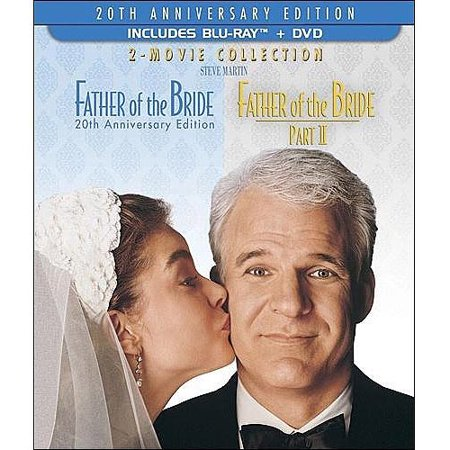 Father Of The Bride  20Th Anniversary Edition   Father Of The Bride  Part Ii  Blu Ray   Dvd