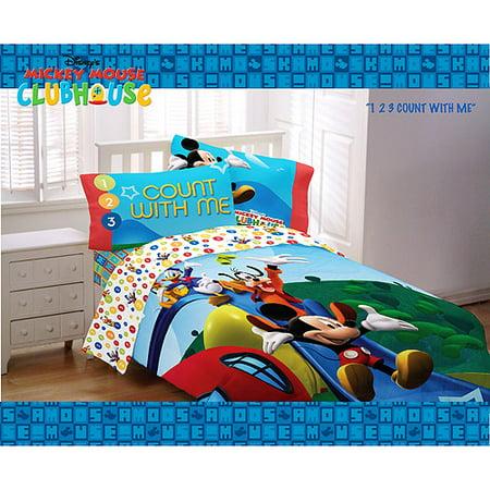 Disney s Mickey Mouse Sheet Set. Disney s Mickey Mouse Sheet Set  Full   Walmart com