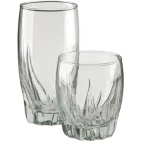 Anchor Hocking Fleur 16pc Drinkware Set - Custom Drinking Glasses