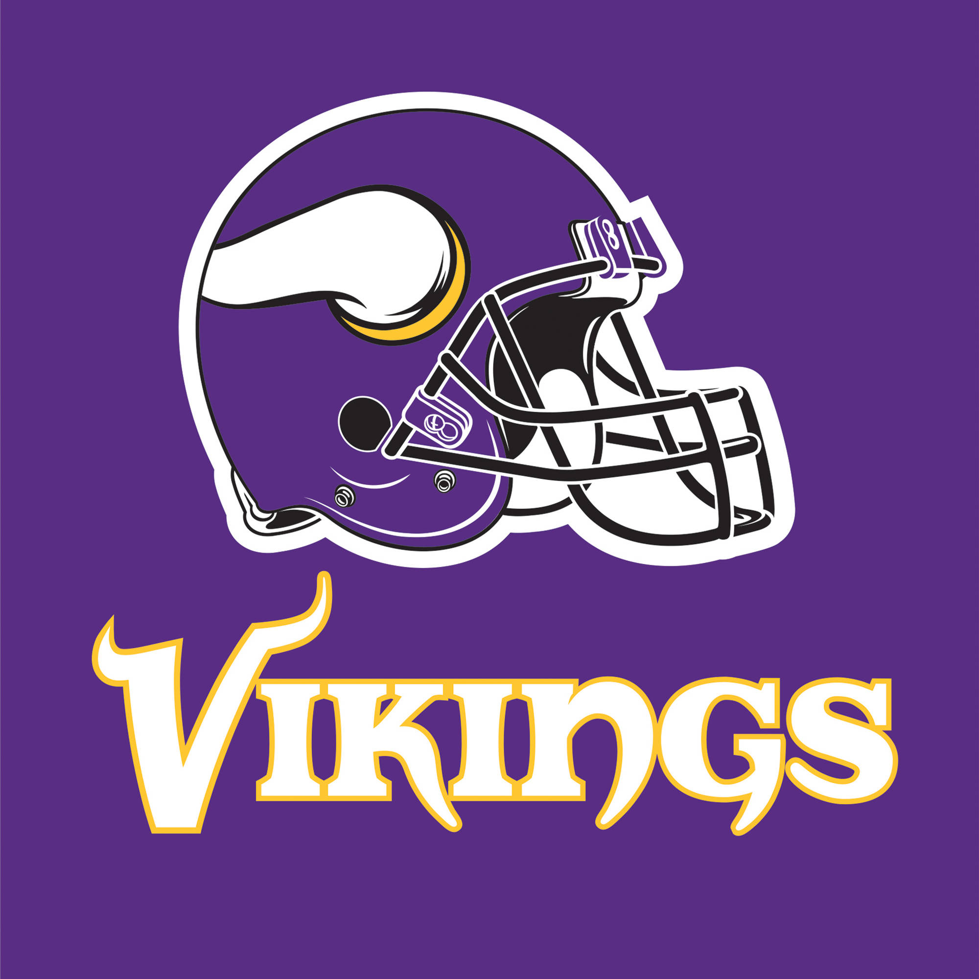 Minnesota Vikings Napkins, 16-Pack