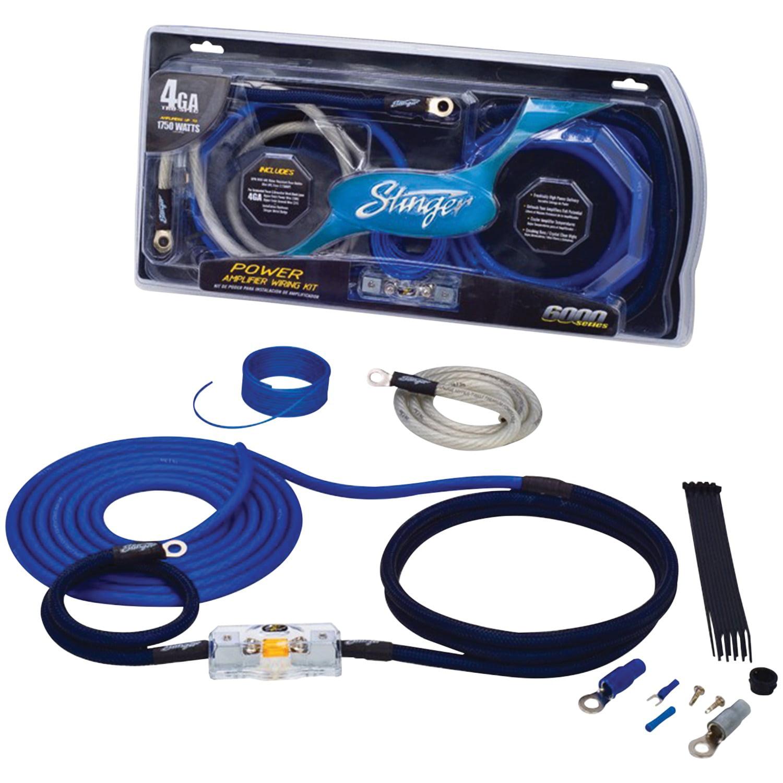 Stinger SK4681 4000 Series Power & Signal Wiring Kit (8 Gauge)