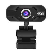 HXSJ S50 HD Webcam Desktop Laptop Camera 720P Cam CMOS Sensor with Built-in Microphone for Video Calling