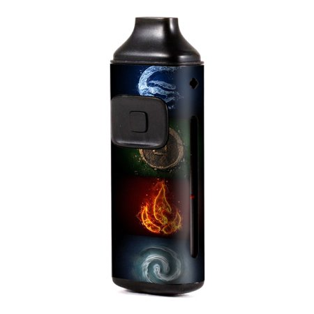 Skin Decal Vinyl Wrap for Aspire Breeze Kit Vape skins stickers cover/ Elements Water Earth Fire Air ()
