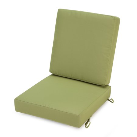 Coral coast classic hinged outdoor deep seating cushion - Hinged outdoor cushions ...